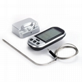 Digital Wireless Cooking Thermometer Digital LCD Display Barbecue Thermometer