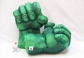 Fist Stuffed Plush Toys Children Cartoon Spiderman Hulk Stone Flash Pillow