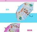 New Cute Transparent Kids Umbrella Children Girls As Novelty Gifts Fully-Automat