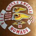 Hells Angels Bandidos Patches MC Twills Motorcycle Club Patches DIY Patches