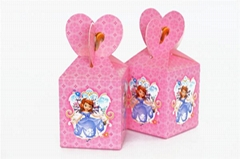 Cartoon Mickey theme paper bags baby shower souvenirs gift candy boxs birthday