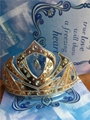 Elsa Anna Frozen Sisters Cosplay Crowns Sliver Gold Color In Stock Party Gifts
