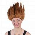 Anime Dragon Ball Goku Party Halloween Costume Cosplay Wigs 6 colors Bragon Ball