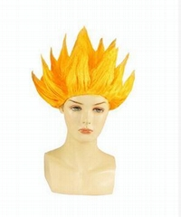 Anime Dragon Ball Goku Party Halloween Costume Cosplay Wigs 6 colors Bragon Ball