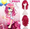 Trolls Wig Branch Wig White Pink Yellow Party Hat Short Synthetic Hair Costume H