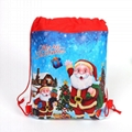 Cartoon String Bags Santa Claus Ladybug Miraculous Moana Sofia Kids Birthday bag