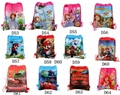 Cartoon String Bags Kids Birthday Gifts Bag Cartoon Mario Spiderman Elsa Anna