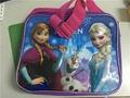 Elsa Kids Lunch Bag Cartoon Sofia Lunch Box for Girls School 2016 New Arrival Sn