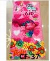 75*150cm Cartoon Trolls Poppy Towels Baby Bath Towel Children Moana Sofia Elsa