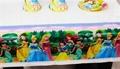 Moana Elsa Theme Party Decor Set  Kids Cartoon Party Decoration Spderman Unicorn