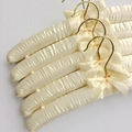 35cm Silk Hanger Imitation Gold Hook Cloth Hanger Cloth Wedding Dress Hangers
