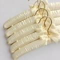 35cm Silk Hanger Imitation Gold Hook Cloth Hanger Cloth Wedding Dress Hangers