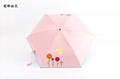 Mini 5 Folding Umbrella Rain Women Parasol Cute Folding Umbrella Parapluie