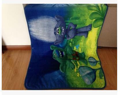 Trolls Poppy Branch Blanket Size 100*130cm Kids Fleece Blanket Kids Gifts 4