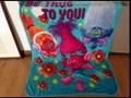 Trolls Poppy Branch Blanket Size 100*130cm Kids Fleece Blanket Kids Gifts 6