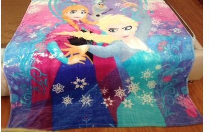 1.5x2M Princess Sofia Elsa Kitty Cars Spiderman Avengers Coral Fleece Blanket 9