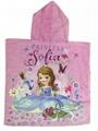Kids Cartoon Moana Superman Sofia Elsa Anna Spideman Avengers Bath Towels Baby