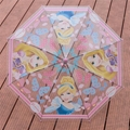 New Cute Transparent Kids Umbrella Children Girls As Novelty Gifts Fully-Automat