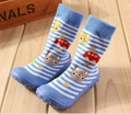 Kids Toddler Indoor Floor Thick Socks Christmas Cartoon Anti Slip Newborn Baby
