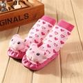 Baby 3D Cartoon Cotton Socks Toddler Indoor Floor Socks Anti Slip Baby Learn To