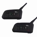 Football Referee Intercom Headset V4C 1200M Full Duplex Bluetooth Interphone