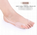 Multifunctional Silicone Hallux Valgus Correction Toe Separators Tiptoe Sleeve