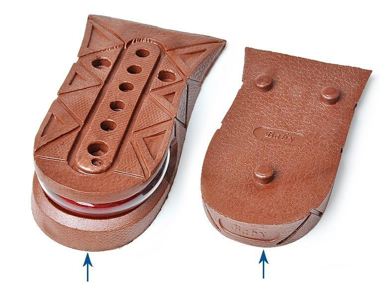 Height Increase Insole Adjustable 2-Layer 5CM Air Cushion Invisible Pads Insoles 3