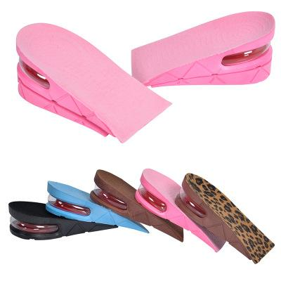 Height Increase Insole Adjustable 2-Layer 5CM Air Cushion Invisible Pads Insoles 5