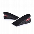 Height Increase Insole Adjustable 2-Layer 5CM Air Cushion Invisible Pads Insoles