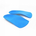 2018 New Unisex 3/4 Length Orthotic Arch Support Shoe Pad Sports Fitness Running