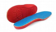 Kids EVA Memory Form Orthopedic Insoles For Children Shoes Flat Foot Arch Suppo