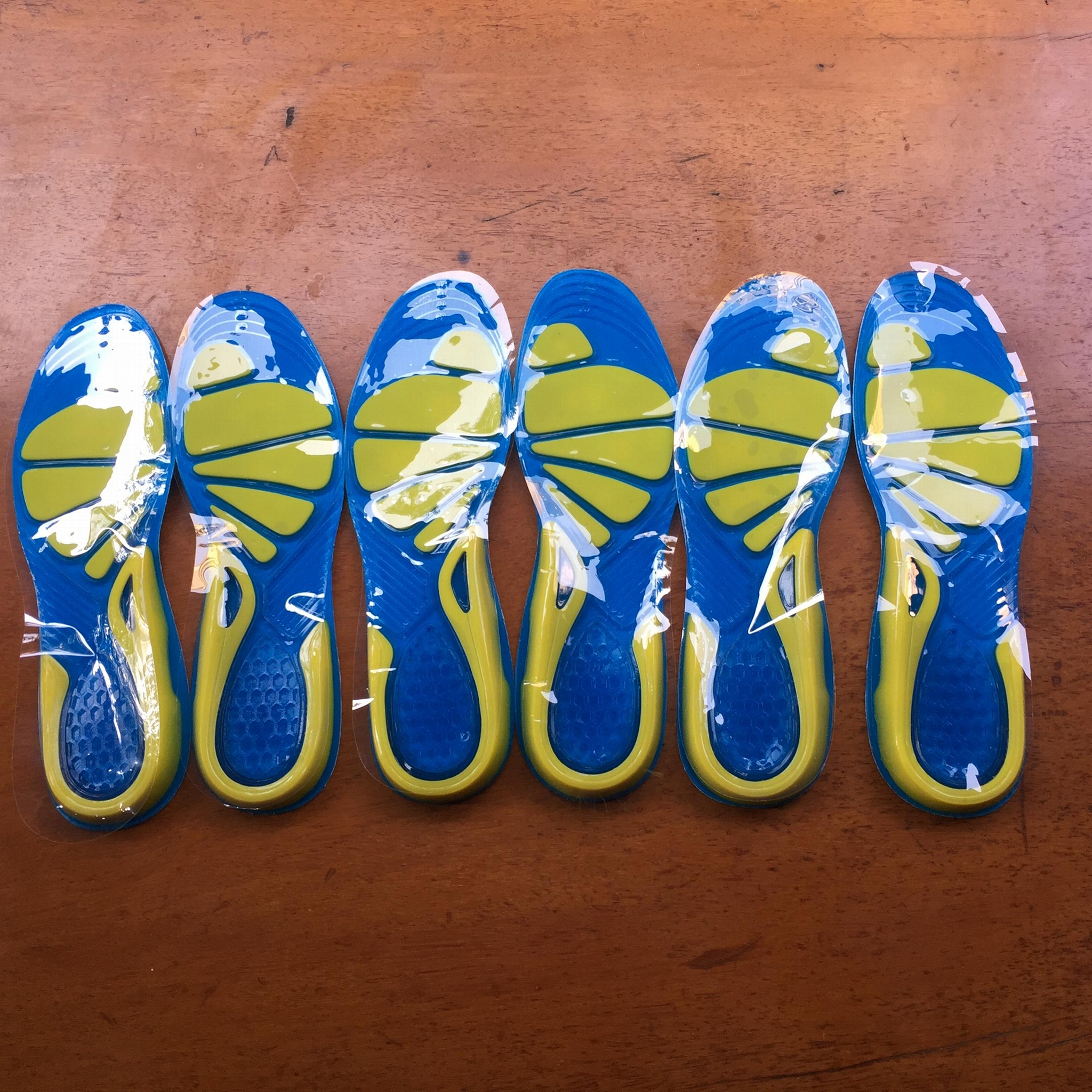 Running Sport Insoles Silicone Gel Insoles Foot Care for Plantar Fascitis Heel  2