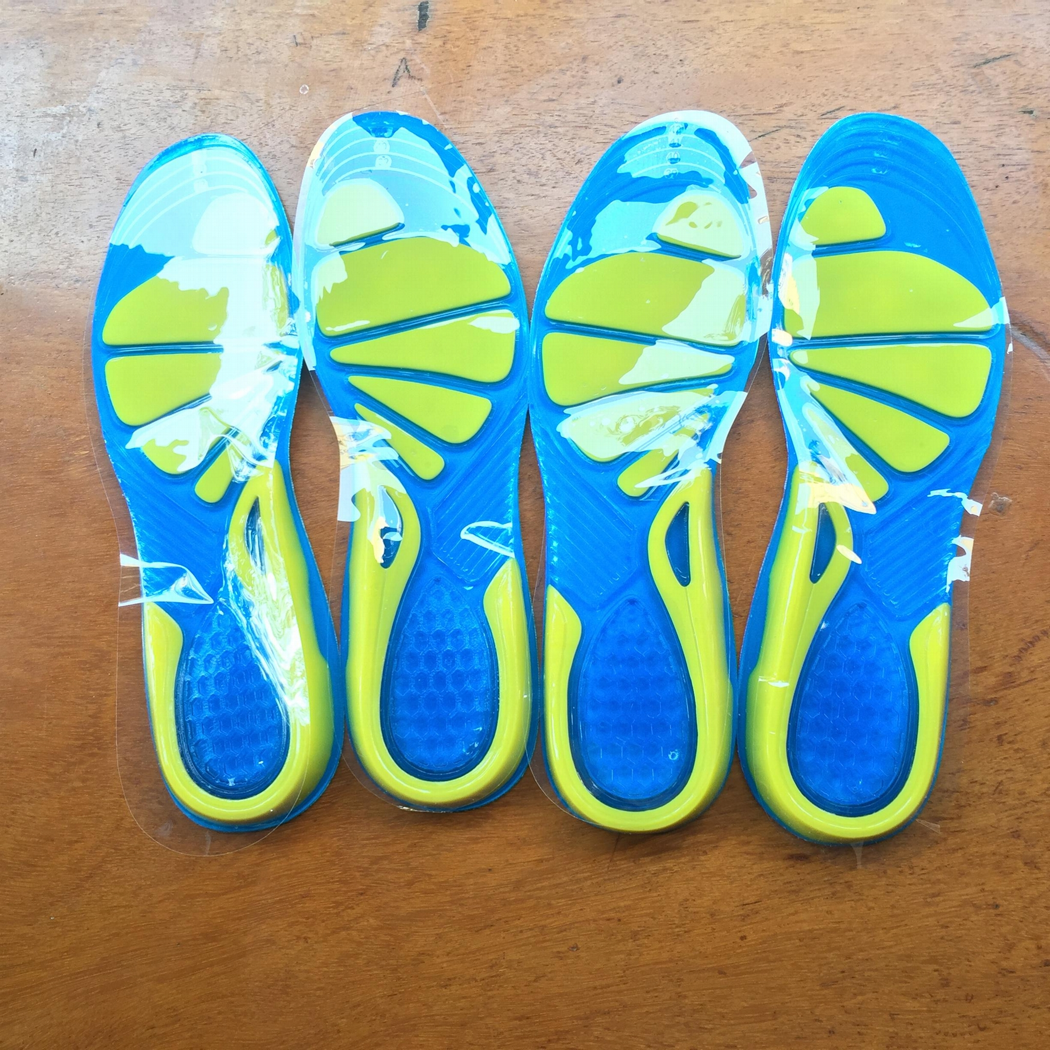 Running Sport Insoles Silicone Gel Insoles Foot Care for Plantar Fascitis Heel  1