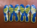 Running Sport Insoles Silicone Gel Insoles Foot Care for Plantar Fascitis Heel