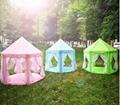 Girl Princess Castle Tents Portable Children Outdoor Garden Folding Play Tent