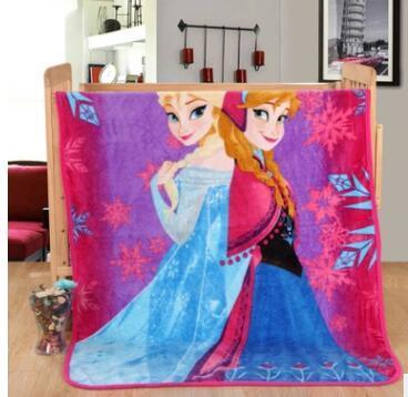 Elsa Anna Olaf Spiderman Blanket Size 100*130cm Kids Fleece Blanket Kids Gifts 4