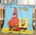 Elsa Anna Olaf Spiderman Blanket Size 100*130cm Kids Fleece Blanket Kids Gifts 5