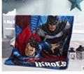 Elsa Anna Olaf Spiderman Blanket Size 100*130cm Kids Fleece Blanket Kids Gifts 6