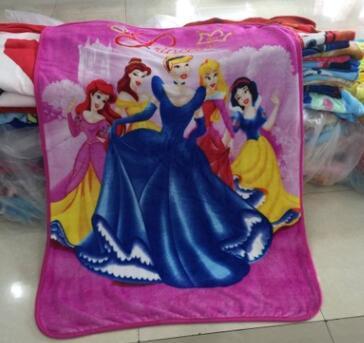 Elsa Anna Olaf Spiderman Blanket Size 100*130cm Kids Fleece Blanket Kids Gifts 7