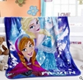 Elsa Anna Olaf Spiderman Blanket Size 100*130cm Kids Fleece Blanket Kids Gifts 12