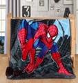 Elsa Anna Olaf Spiderman Blanket Size 100*130cm Kids Fleece Blanket Kids Gifts