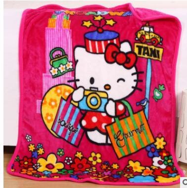 Elsa Anna Olaf Spiderman Blanket Size 100*130cm Kids Fleece Blanket Kids Gifts 16