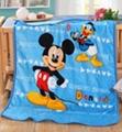 Elsa Anna Olaf Spiderman Blanket Size 100*130cm Kids Fleece Blanket Kids Gifts 1