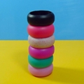 Cool Hypoallergenic Flexible Silicone Rubber Brand Ring For Woman Man Size 5 6 7