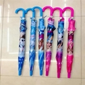 Lovely Cartoon Umbrella For Sun Protection School Students Long Handle Umbrella