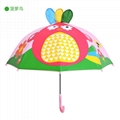 Cute 3D Umbrella Cartoon Children Umbrella Sun and Rainy Creative Parasol Umbrel