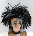 Super Dragon Sun Wukong Hedgehog Head Cosplay Anime Fans Wig Party Halloween Wig