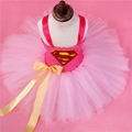 Batman Kids Girls Tutu Dress Superhero Halloween Birthday Party Costumes Dress