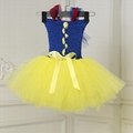 Princess Girls Dresses Costume CChildren Halloween Christmas Snow White Cosplay