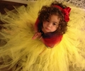 Kids Infant Girl Handmade Snow White Princess Tutu Dress Tulle Party Wedding